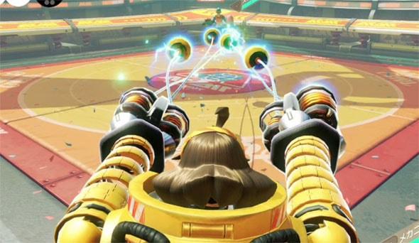 リボルバーの攻撃画像