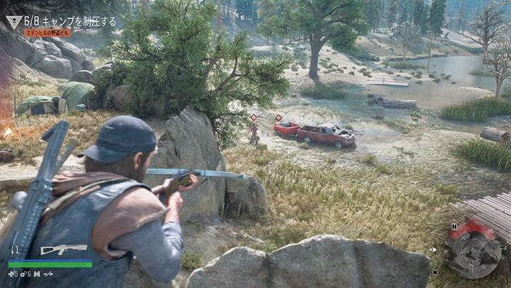 野盗キャンプの攻略方法その2