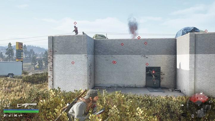 野盗キャンプの攻略方法その1