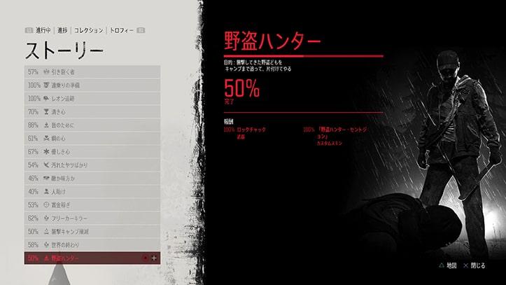 『野盗ハンター』のミッション画像