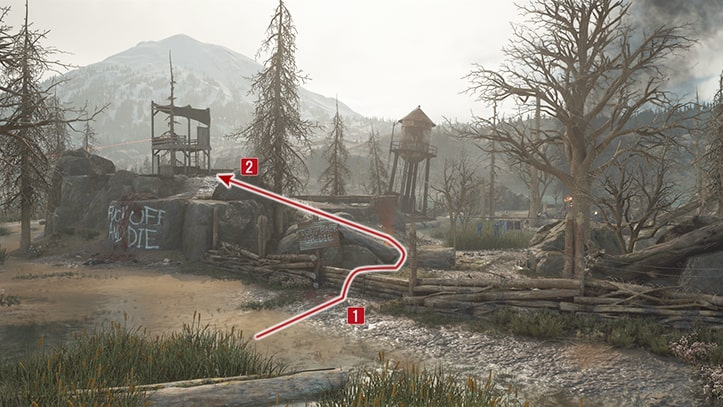 ベアベイの野盗キャンプ攻略方法その1