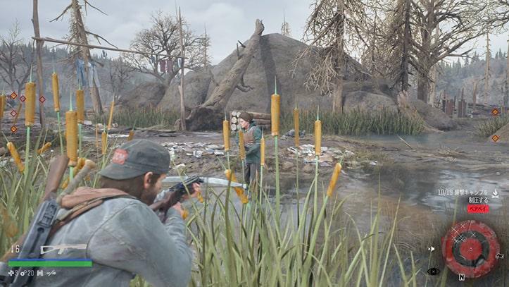 ベアベイの野盗キャンプ攻略方法その4