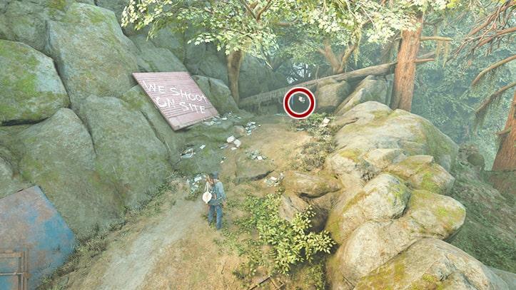 ホースクリークの野盗キャンプの攻略ポイントその1
