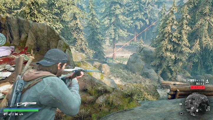 ホースクリークの野盗キャンプの攻略ポイントその4