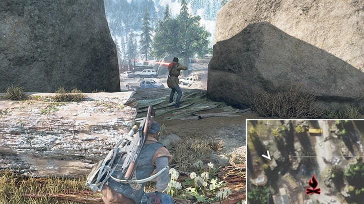 野盗キャンプの攻略ポイントその1