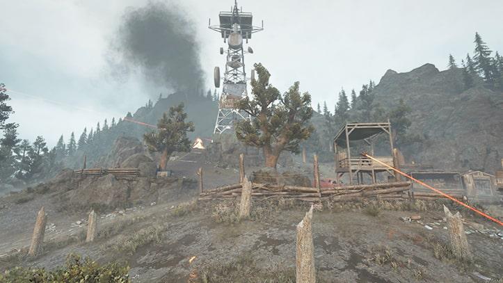 アスペンビュートの野盗キャンプの風景