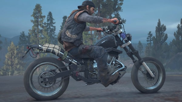 ディーコンが乗るドリフターバイクの画像