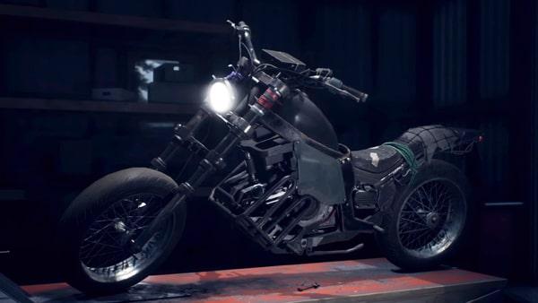 Days Goneのバイクカスタマイズ画像