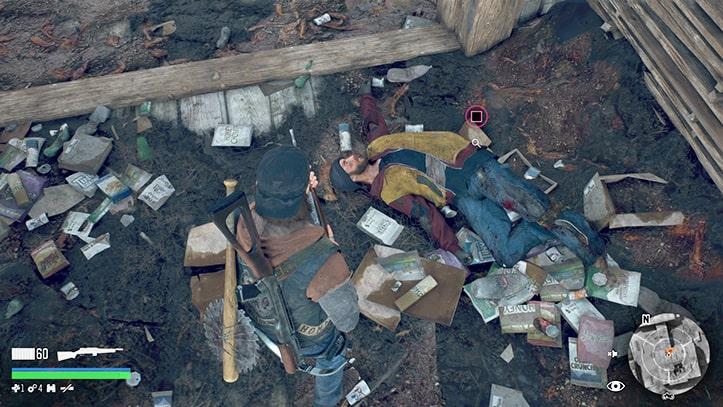 トゥードッグの遺体