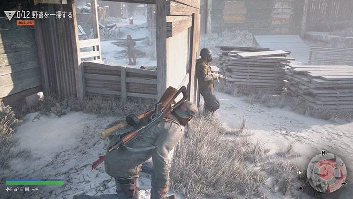 野盗キャンプの襲撃画像