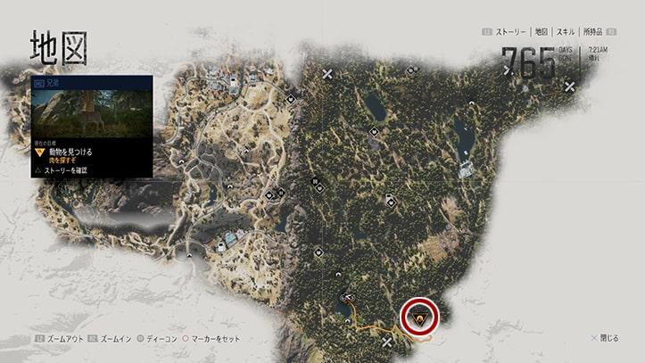 ミッションの攻略マップ