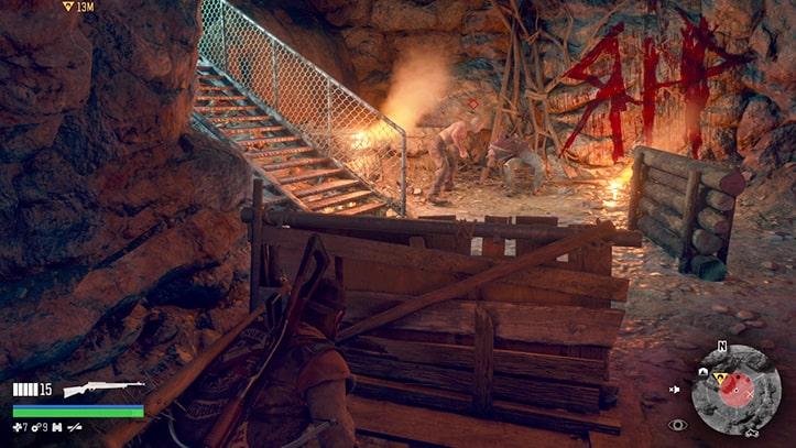 洞窟でのリッパー画像