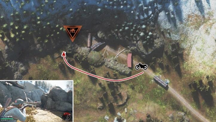 ミッションの攻略ルートその1