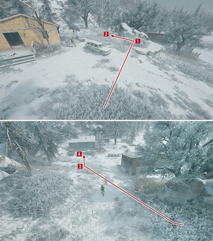 NEROの調査員に近づくための攻略ルート画像その3