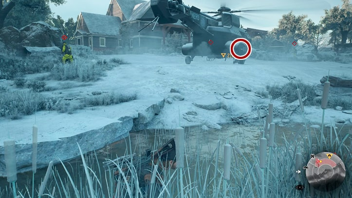 NEROのヘリに追跡装置を取り付ける攻略方法その2