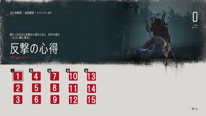 格闘戦スキルの画像