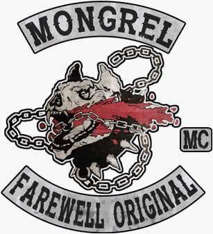 Mongrel Motorcycle Clubのロゴデザイン