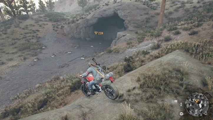 アイスウィンド溶岩洞の入口画像