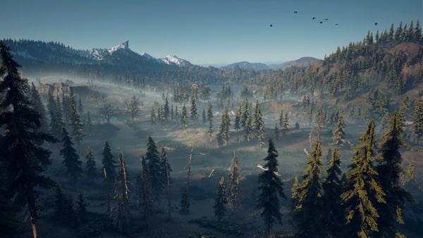 自然豊かなデイズゴーンの風景画像