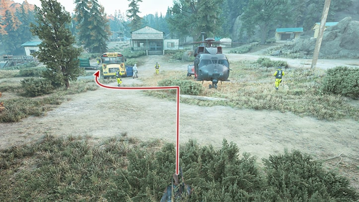 NEROの調査現場の尾行方法その2