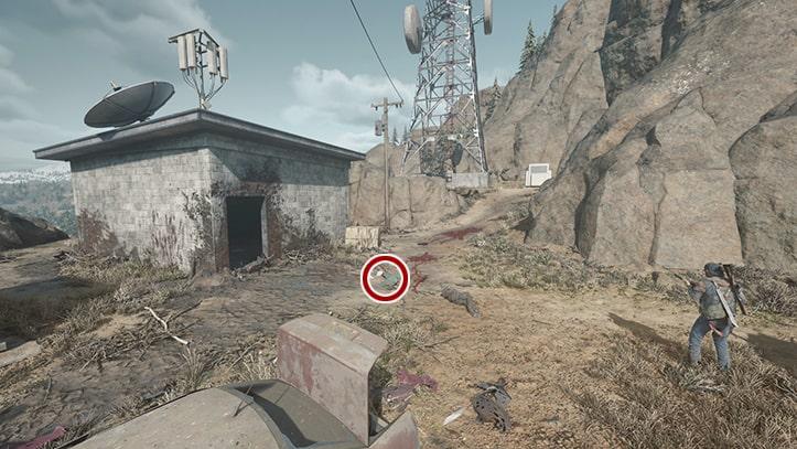 現場を調べる場所の画像