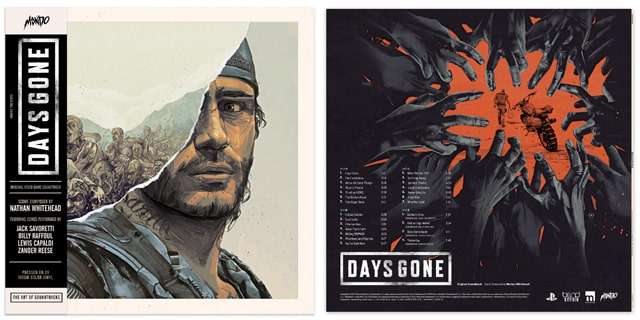 Days Goneのアナログ盤のサウンドトラック