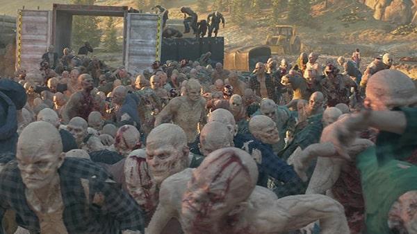 フリーカーの群れの画像