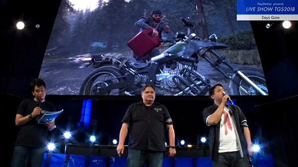 ディーコンとバイクの説明