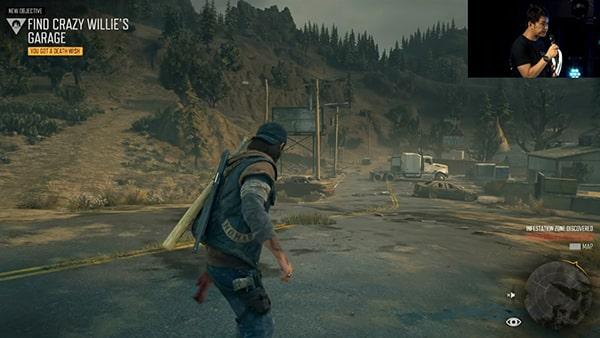 ストーリーミッションのプレイ画像