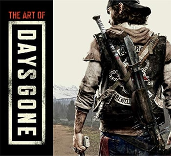 The Art of Days Goneの表紙