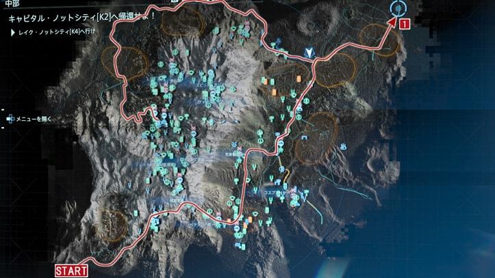 エピソード10の攻略マップ