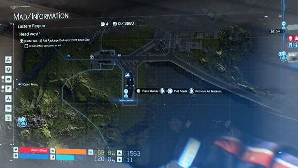 マップ情報画像