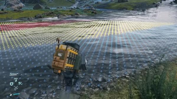 地形センサーの画像