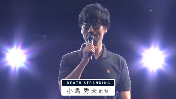 TGS2019の小島秀夫監督