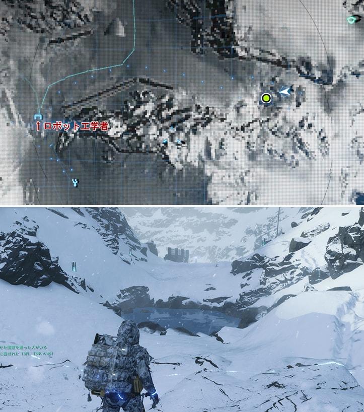 雪見温泉 万能の湯の温泉場所のマップ