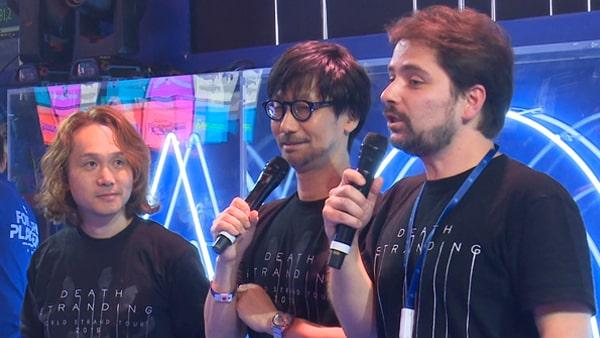 Paris Games Week 2019に出演する小島秀夫&新川洋司