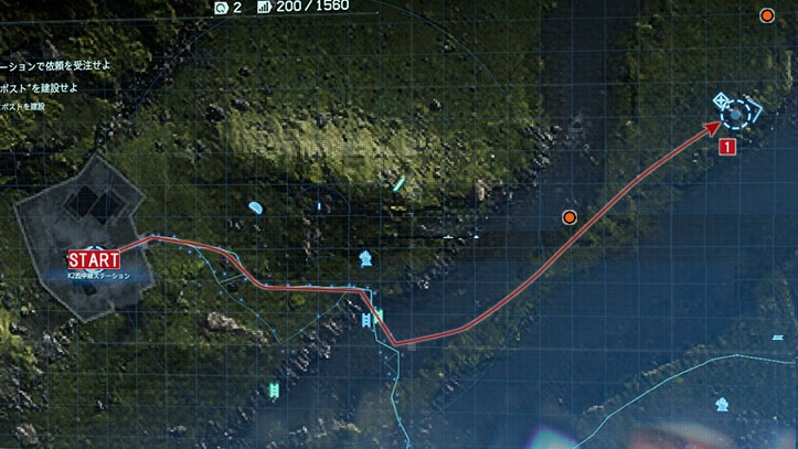 建設予定地にポストを建設の攻略マップ