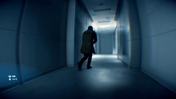 廊下にいるクリフ