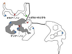 海岸の地図