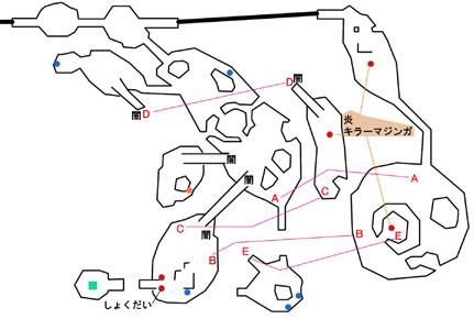 ピピッ島のマップ