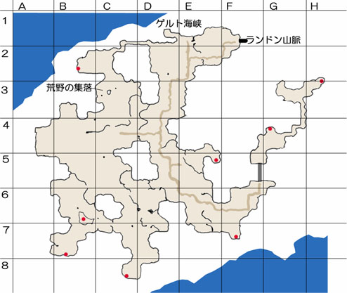 過去のランドンフットのマップ