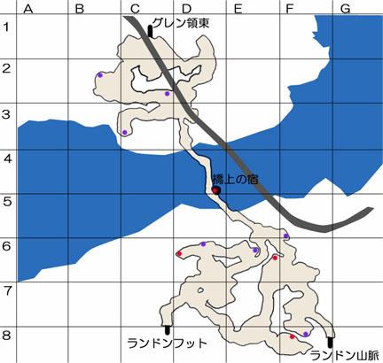 ゲルト海峡のマップ