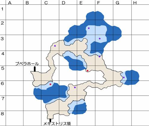 プペラトンネルのマップ