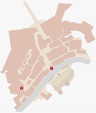 アサシンズフェスティバルの攻略マップ
