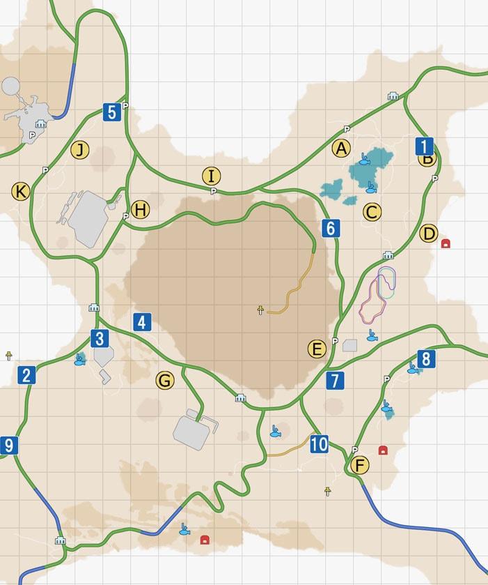 車故障のサブクエストマップ