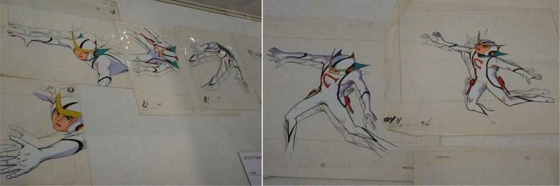 新造人間キャシャーンのオリジナルセル画