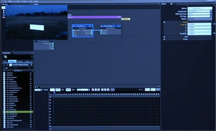Luminous VFX Editorの画面説明
