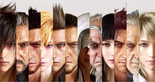 ff15のキャラクター達