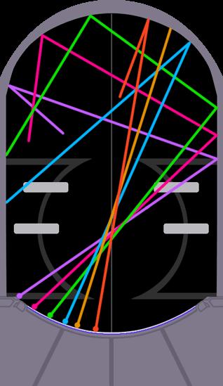 ジャスモンのボール軌跡図(左飛ばしコース)