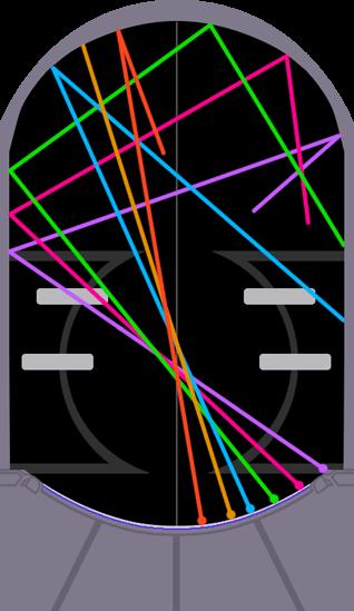 ジャスモンのボール軌跡図(右飛ばしコース)